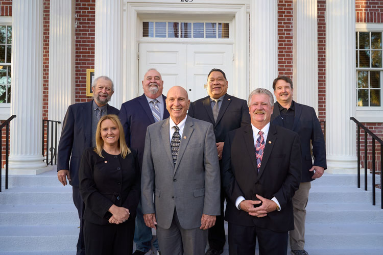 Picture of City Council Members and City Manager