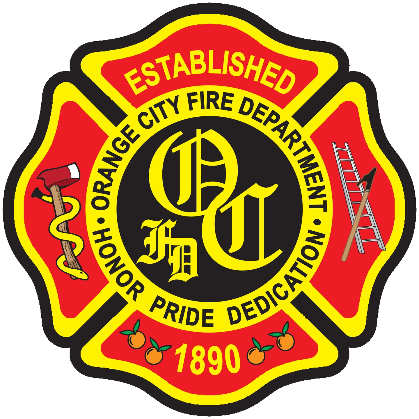 Orange City Fire Department Logo