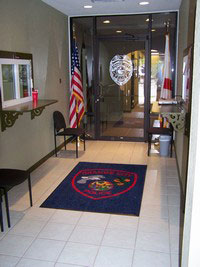 Picture of Police Department Lobby