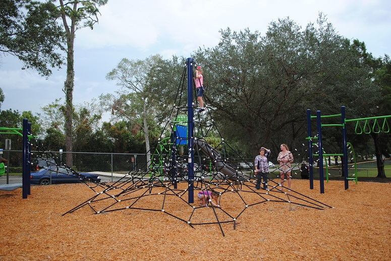 Picture of children playing a Coleman Park