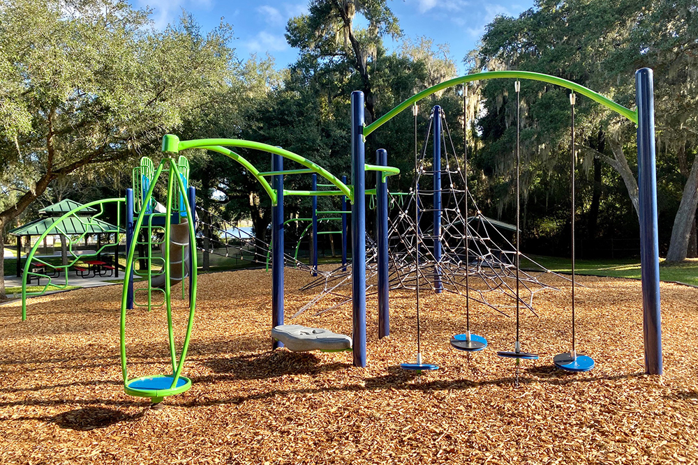 image of swings