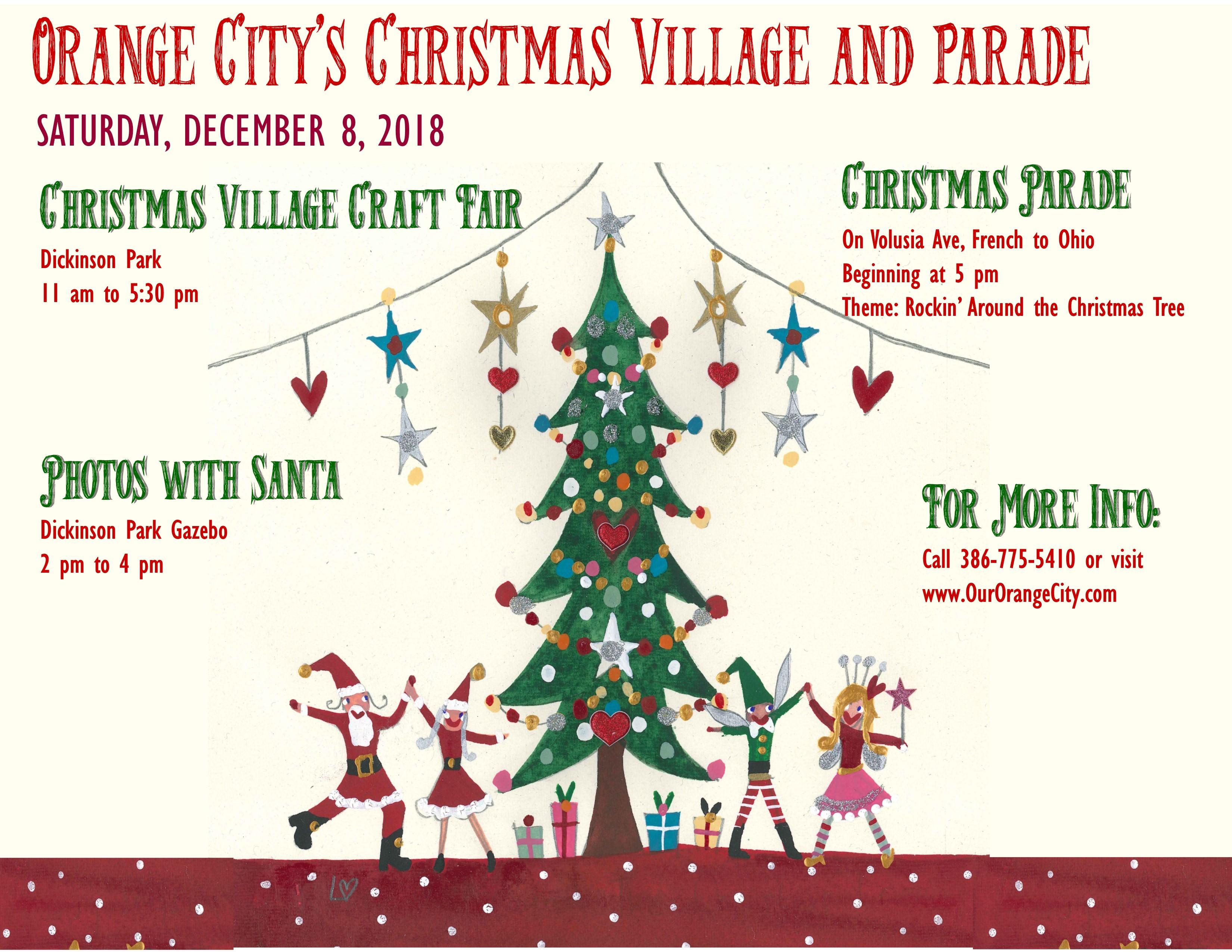 Christmas Event In Florida.Orange City Christmas Parade A Tropical Christmas