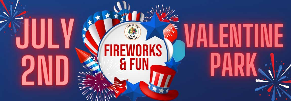 Orange City Annual Fireworks Show